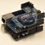 Arduino Uno - Ethernet Shield - XBee Shield stack